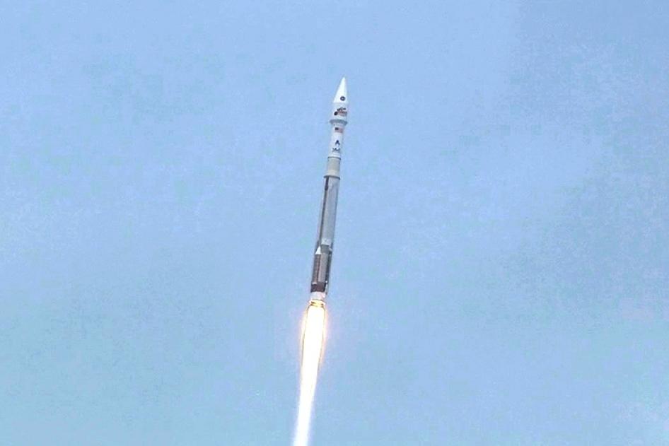 MAVENin laukaisu onnistui odotetusti. Kuva: NASA.