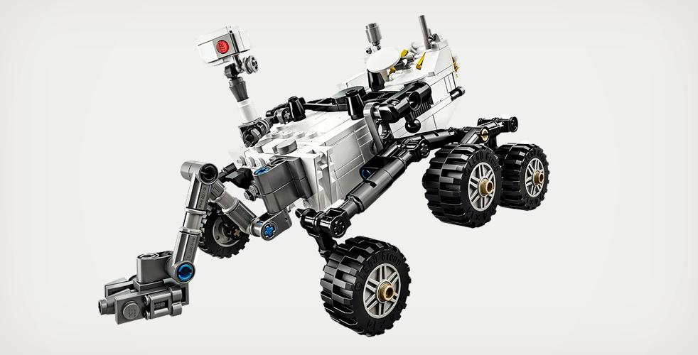 Lego Curiosity-mönkijä. Kuva: Lego.