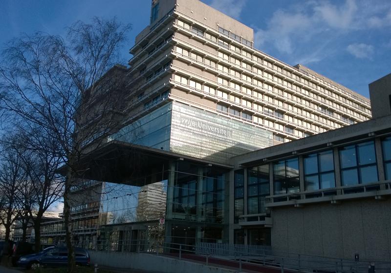 EU-hankkeen kokouspaikkana oli VU University Amsterdam. Kuva: Harri Haukka.