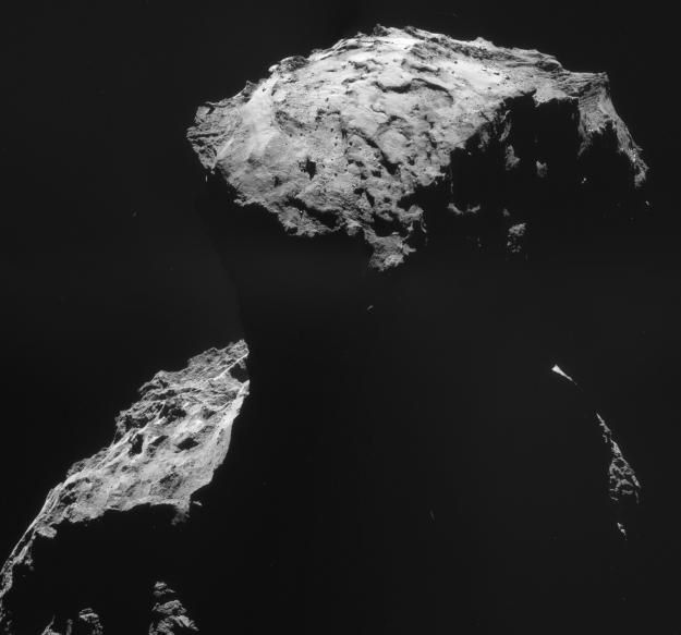 Kuva: ESA/Rosetta/NAVCAM, CC BY-SA IGO 3.0
